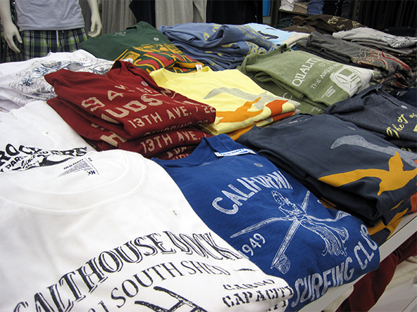 5 Types of Customized T-Shirt Printing Techniques